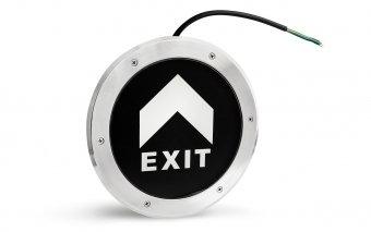 Аварийный светильник встроенный в пол PL BL 1.0