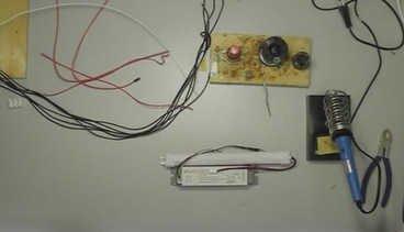 Модернизация светильника Geniled Лайнер 40W с помощью автономного источника питания БАП 1.3 Pelastus
