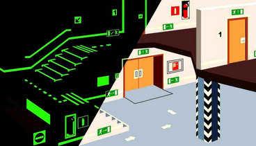 Классификация аварийного освещения